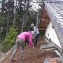 芝屋根づくり、そして…
