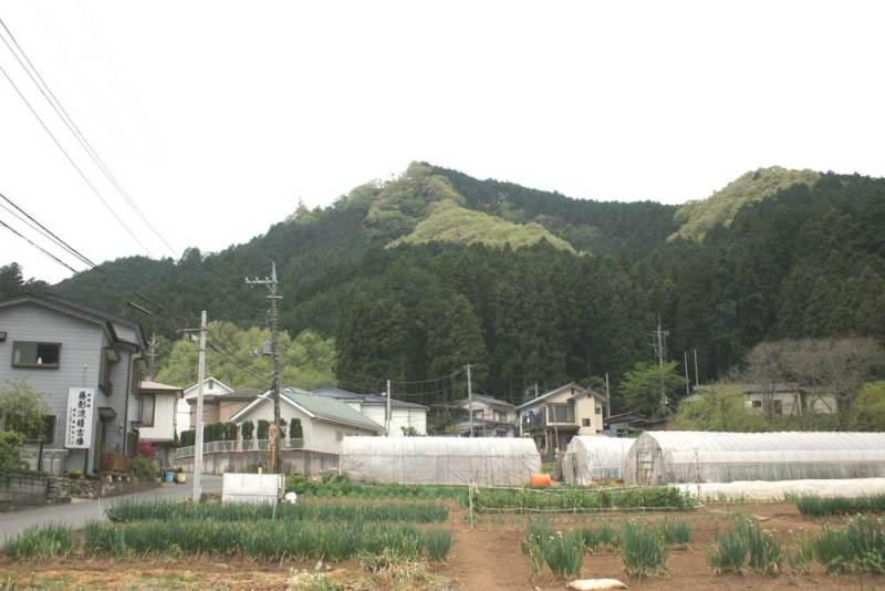 戸倉城/城山遠景