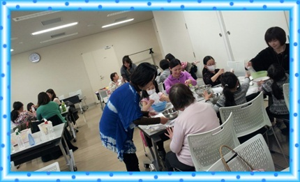 癒しのアトリエ・江戸川区葛西パステル和アートおうち教室♪カード&カラーセラピー♪