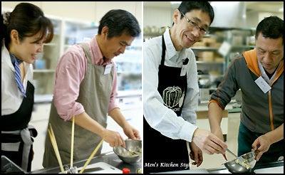 男の料理教室【メンズ・キッチン】メンズ・キッチンスタイリストYOKO(福本陽子)-男の料理教室メンズキッチン 男の定食 満席!