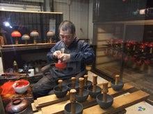 輪島 塗太郎の職人が輪島塗の魅力をつれづれと-工場見学
