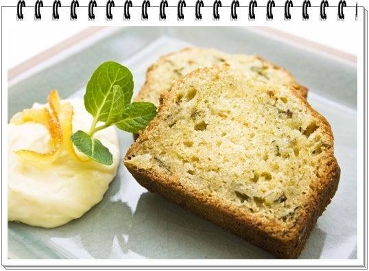 $スパイスロードのブログ-ハーブケーキ