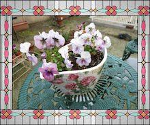 Bred Basket-紫パンジー