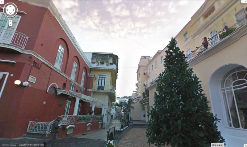【彼女の恋した南イタリア】 - diario  イタリアリゾート最新情報    -今のカメレッレ通り