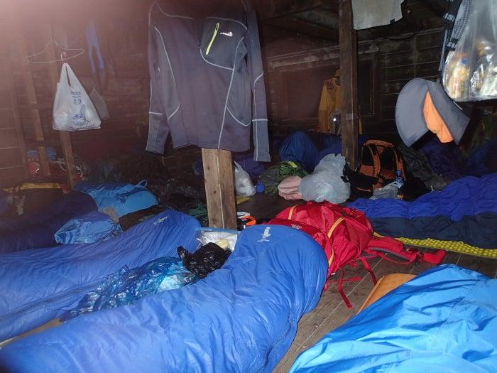 歩き人ふみの徒歩世界旅行 日本・台湾編-夜の山小屋