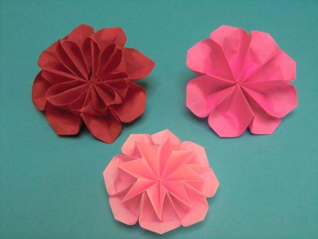 クリスマス 折り紙 : 折り紙 立体 花 : divulgando.net