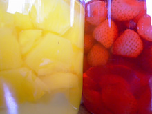 カフェピッコロの日々-フルーツシロップ