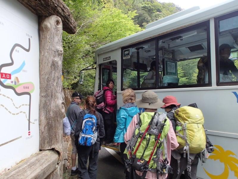 歩き人ふみの徒歩世界旅行 日本・台湾編-バスに乗るあゆみ