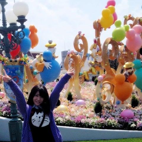 26日に30周年ディズニーということでママとディズニー行ってきました☆~(ゝ。∂)