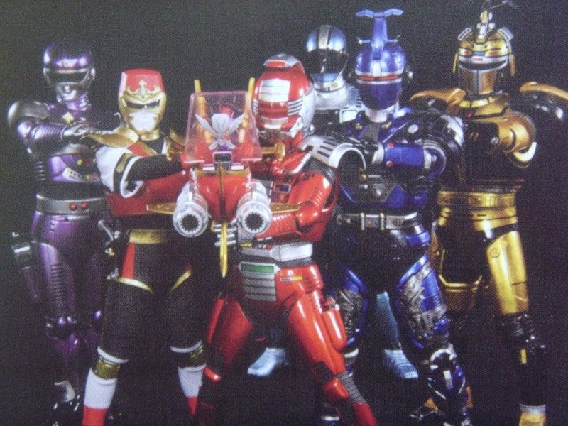 6人のメタルヒーロー