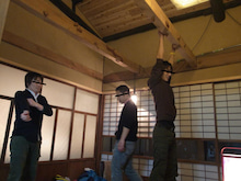 京町家を買って改修する男のblog-町家ボルダリング