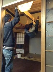 京町家を買って改修する男のblog-梁試登
