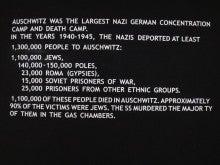 アウシュヴィッツ強制収容所 表
