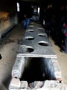 アウシュヴィッツ強制収容所 トイレ