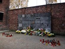 アウシュヴィッツ強制収容所 死の壁