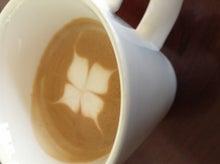 ミサリのカフェのラテ