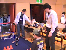 【 ロボットゆうえんち公式ブログ 】-ロクトロボットパーク最終日