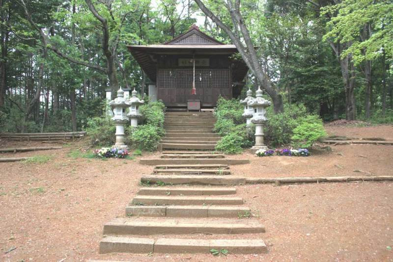 伊奈城/北郷神社