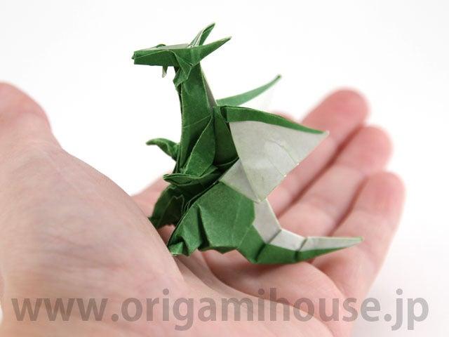 ハート 折り紙:折り紙 龍の作り方-divulgando.net