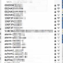 Wi-Fiのチャンネ…
