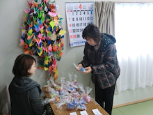 浄土宗災害復興福島事務所のブログ-20130430陸前高田鳴石仮設①