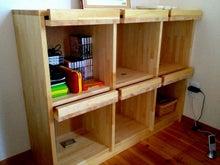 自然素材のオーダー家具 MUKUスタイルのブログ-無垢マガジンラック 愛媛県