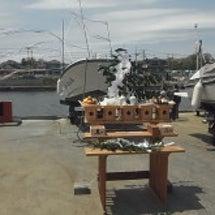 奥松島体験丸の進水式…