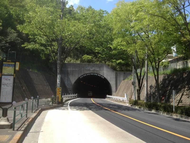 小田野城/小田野トンネル