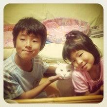 $ ~兄と妹、時々にゃんこ~  ☆オカンのスクラップ日和☆-__.JPG