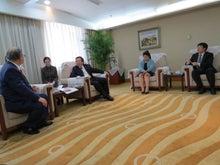 $自見庄三郎のブログ-中国環境保護部 李幹偉副部長と