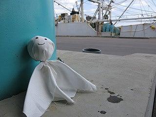 晴れのち曇り時々Ameブロ-石巻漁港にて