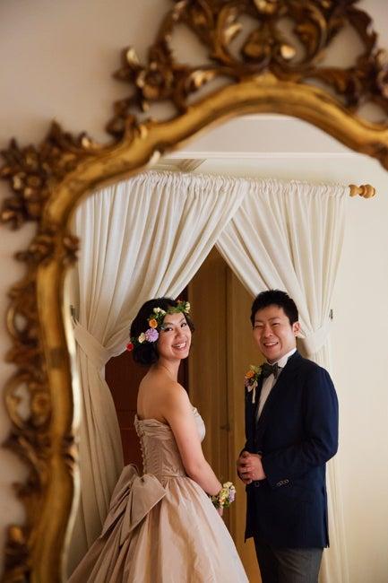 ウエディングカメラマンの裏話*結婚式にまつわるアンなことコンなこと-赤坂氷川神社 ひらまつレゼルヴ  結婚式写真