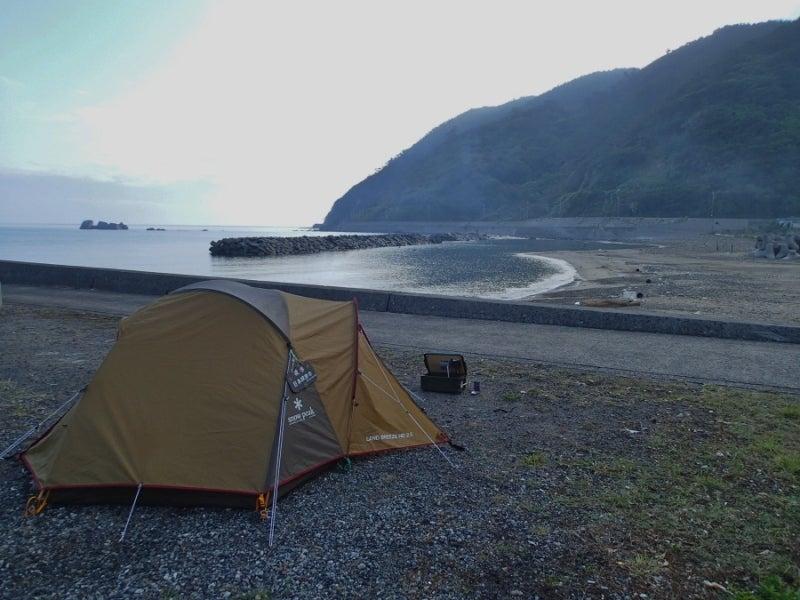$歩き人ふみの徒歩世界旅行 日本・台湾編-奄美最初のキャンプ