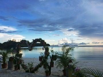 Sky in Palau