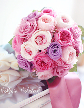 幸せ結婚準備☆ウエディングブーケブログ 花嫁さまの願いを叶える極上プリザーブドブーケ♪