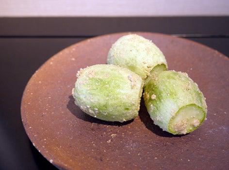 $日本のもの、こと  桃兎の部屋-小メロンの糠漬け