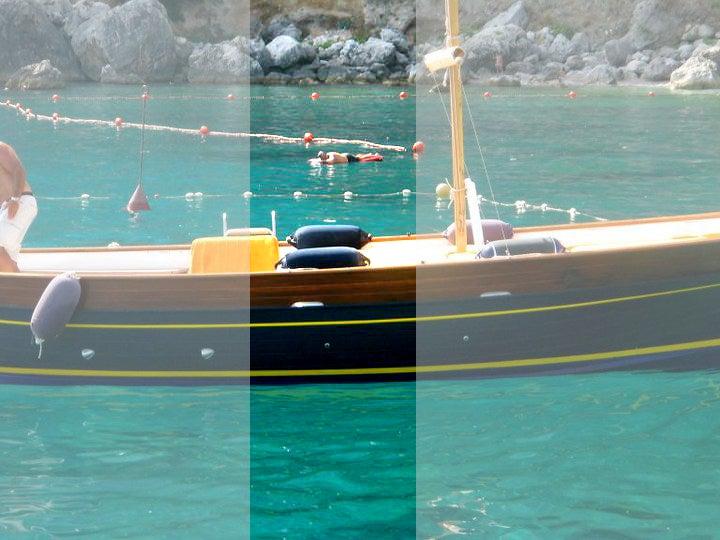 【彼女の恋した南イタリア】 - diario  イタリアリゾート最新情報    -カプリ島 ミニミニボートクルーズ