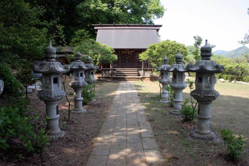 初沢城/高尾天神社