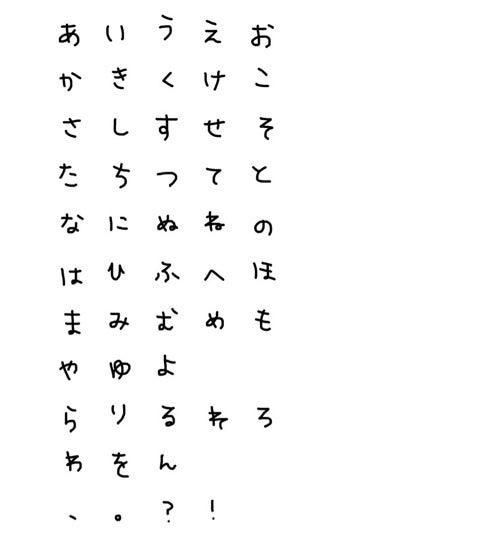 西川瑞希オフィシャルブログ ... : ひらがなあいうえお : ひらがな