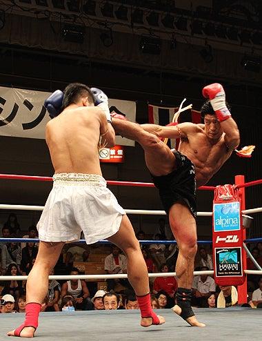 新日本キックボクシング協会-蘇我英樹vsャオ志村