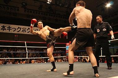 新日本キックボクシング協会-宮本武勇志vsシテペンコ・マクシム