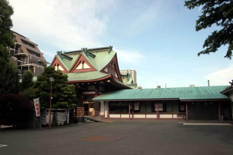 横山党館/八幡八雲神社
