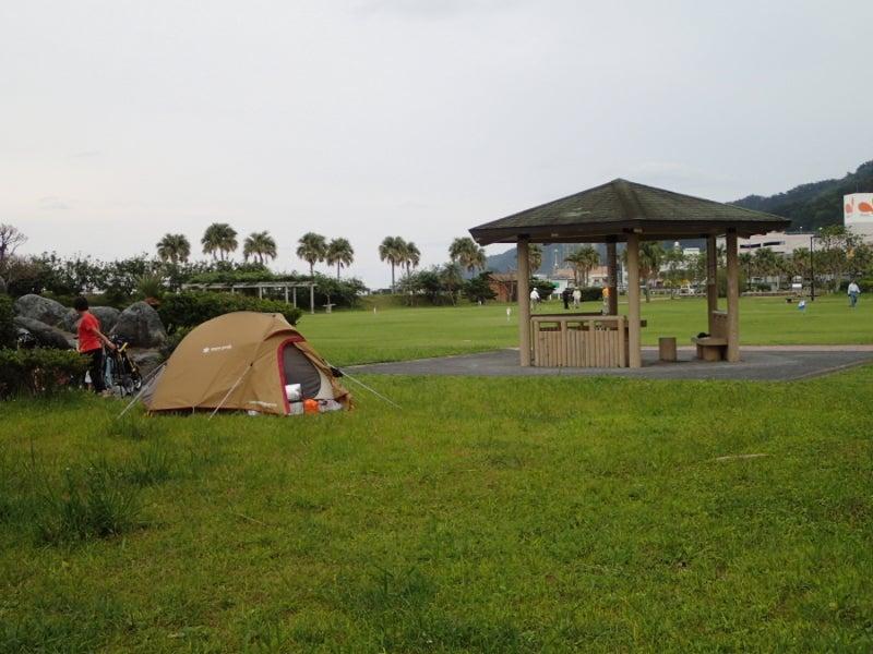 $歩き人ふみの徒歩世界旅行 日本・台湾編-名瀬の公園