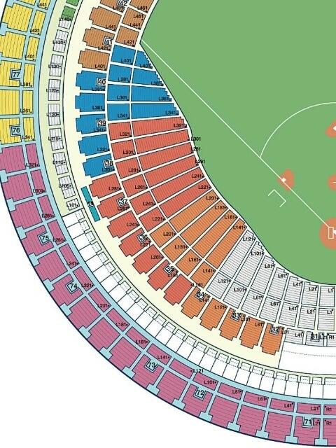 2015年☆BIGBANG 京セラドーム大阪の座席表 ...