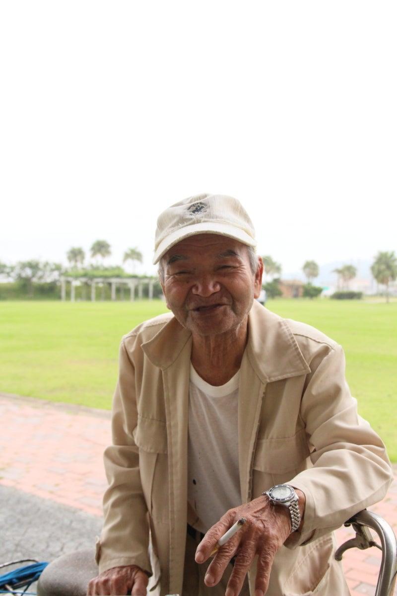 $歩き人ふみの徒歩世界旅行 日本・台湾編-島のおじいちゃん
