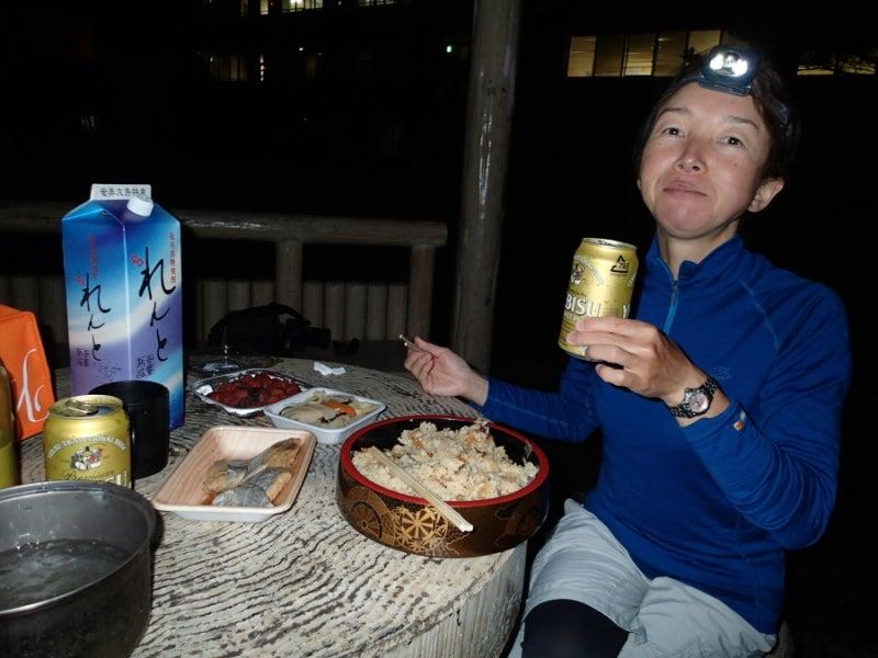 $歩き人ふみの徒歩世界旅行 日本・台湾編-晩餐