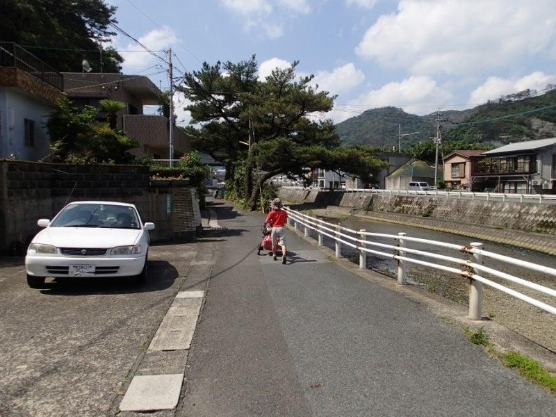歩き人ふみの徒歩世界旅行 日本・台湾編-名瀬出発