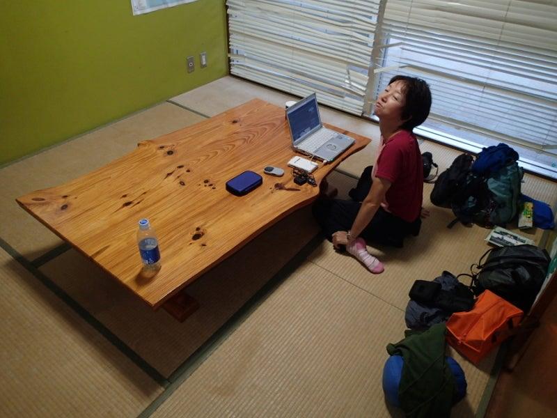 歩き人ふみの徒歩世界旅行 日本・台湾編-道の駅休憩室