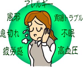 アンチエイジングが自宅で簡単に実践できるブログ-自律神経の乱れの症状
