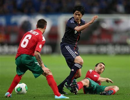 内田篤人 ブルガリア戦 日本代表 サッカー キリンカップ 親善試合 試合結果